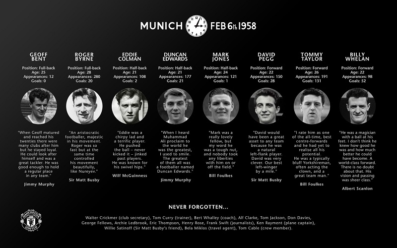 Αθλητικές Ιστορίες: Μάντσεστερ Γιουνάϊτεντ – Η τραγωδία του Μονάχου το 1958