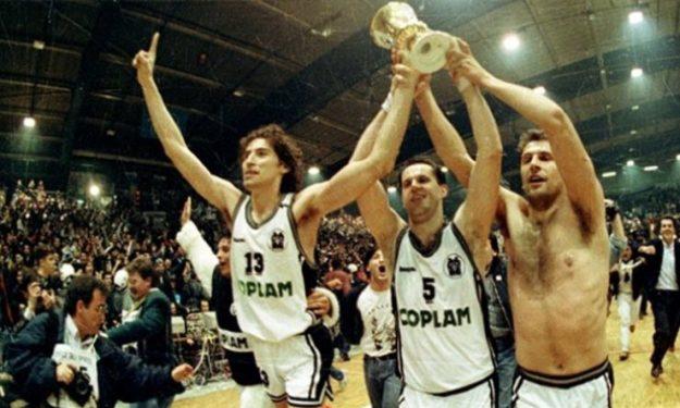 Αθλητικές Ιστορίες: Σαν σήμερα – Ο ΠΑΟΚ το 1991 σήκωσε στο μπάσκετ το κύπελλο Κυπελλούχων
