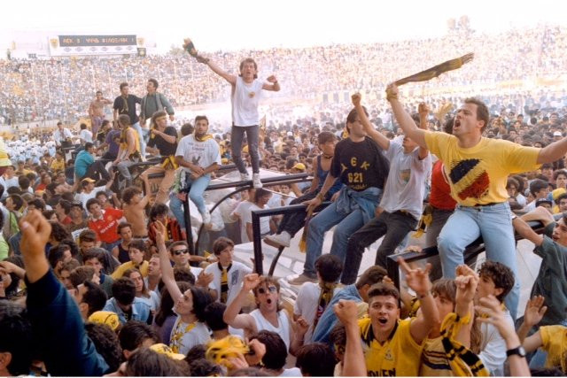 Γνωρίζατε ότι… τη σεζόν 1992-1993 η πρωταθλήτρια ΑΕΚ είχε 17/17 νίκες στην έδρα της;