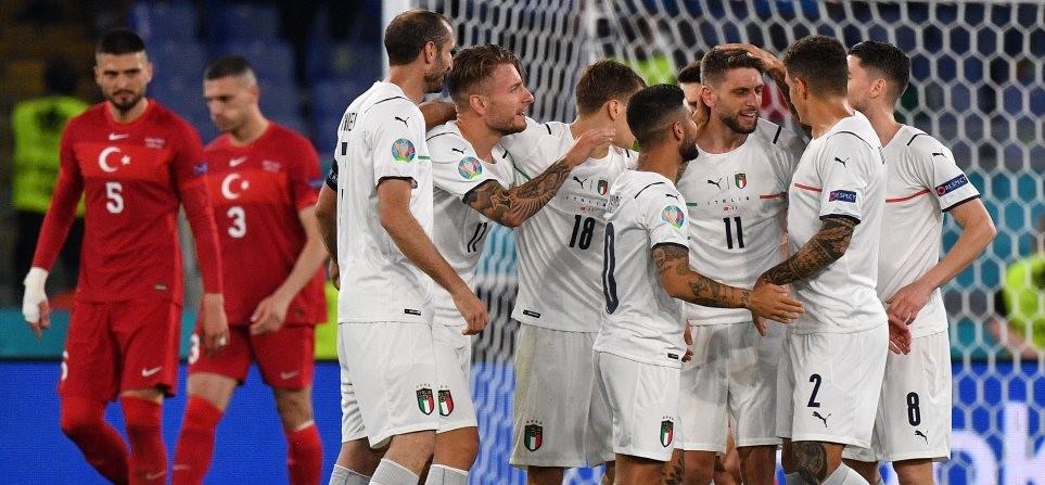 Γνωρίζατε ότι… η Ιταλία δεν είχε σημειώσει ποτέ 3 ή περισσότερα γκολ σε τελική φάση Euro και η Αγγλία δεν είχε κερδίσει ποτέ σε πρεμιέρα Euro;