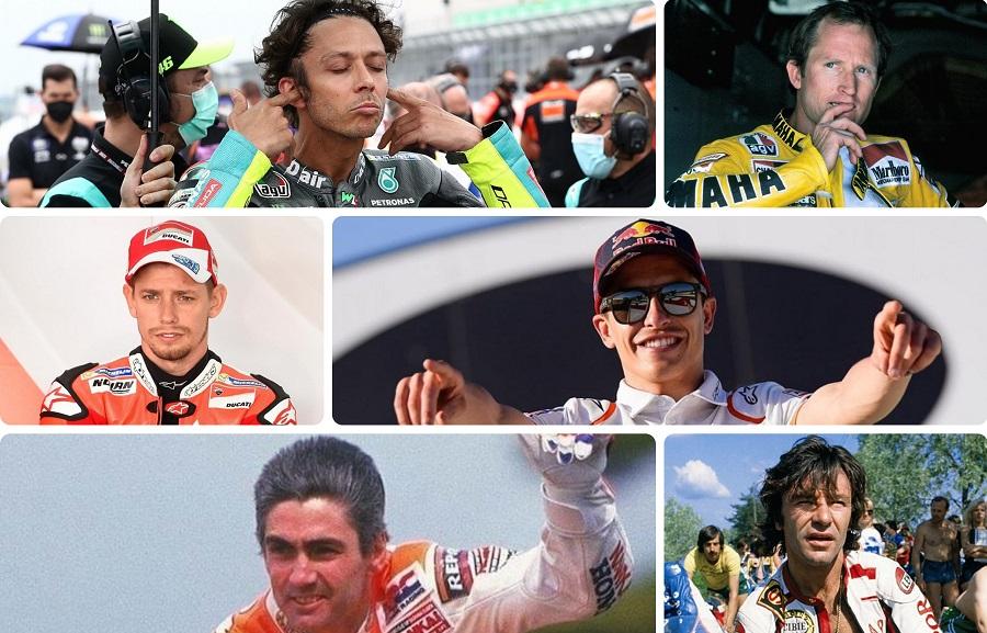 Κουίζ: Δέκα top οδηγοί του Moto GP. Τους αναγνωρίζεις;