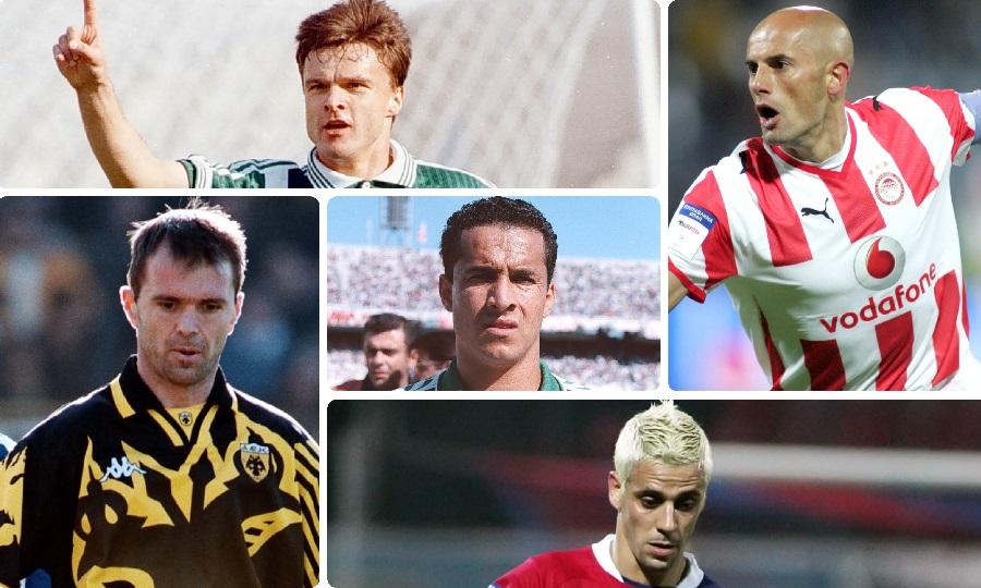 Δέκα παικταράδες της Α' Εθνικής. Θυμάσαι από πού ήρθαν στην Ελλάδα;