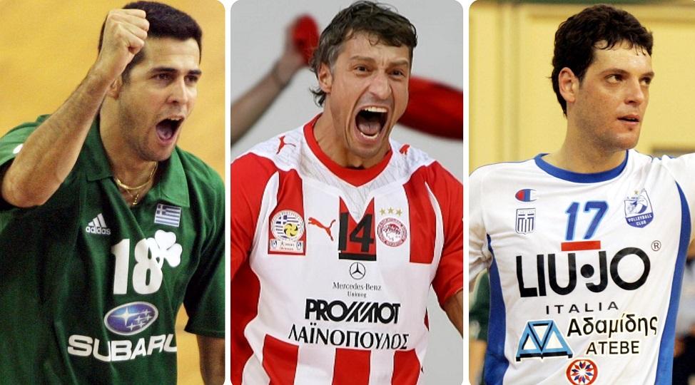 Δέκα τοπ βολεϊμπολίστες που έπαιξαν στην Ελλάδα!